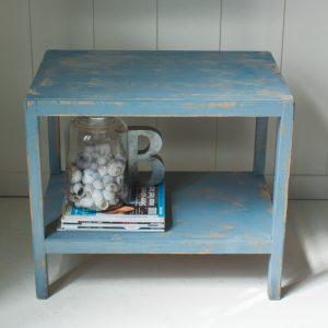 0179 Blauw dubbel tafeltje