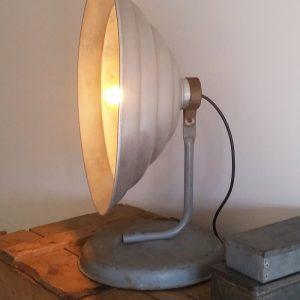 0323 Warmtelamp aluminium
