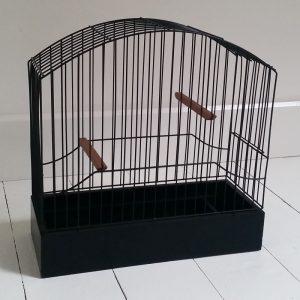 0439 Zwarte vogelkooi