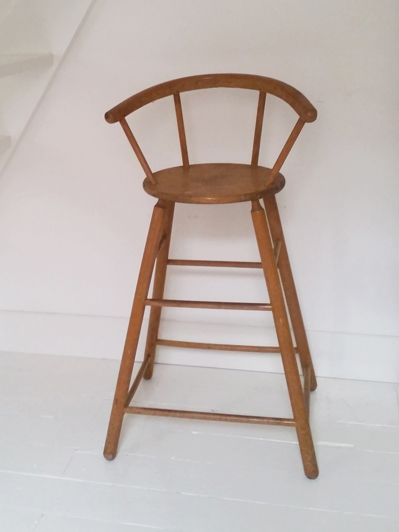 Kinderstoel Hoge Tafel.Vintage Hoge Kinderstoel