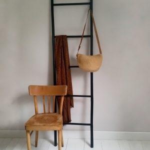 0875 Zwarte bamboe ladder