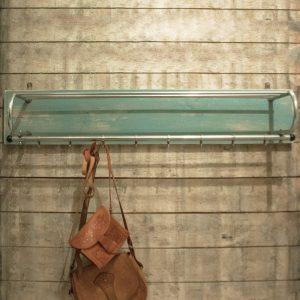 0960 Kapstok chroom op plank