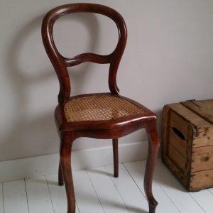 0964 Biedermeier stoel
