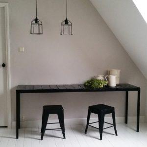 0986 Zwarte tafel