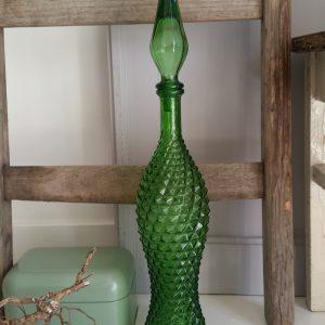1001 Groen glazen karaf