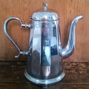 1062 Koffiepot chroom