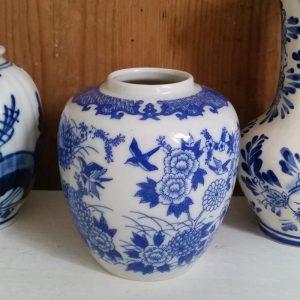1068 Chinees blauw vaasje