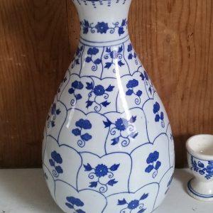 1069 Chinese vaas blauw