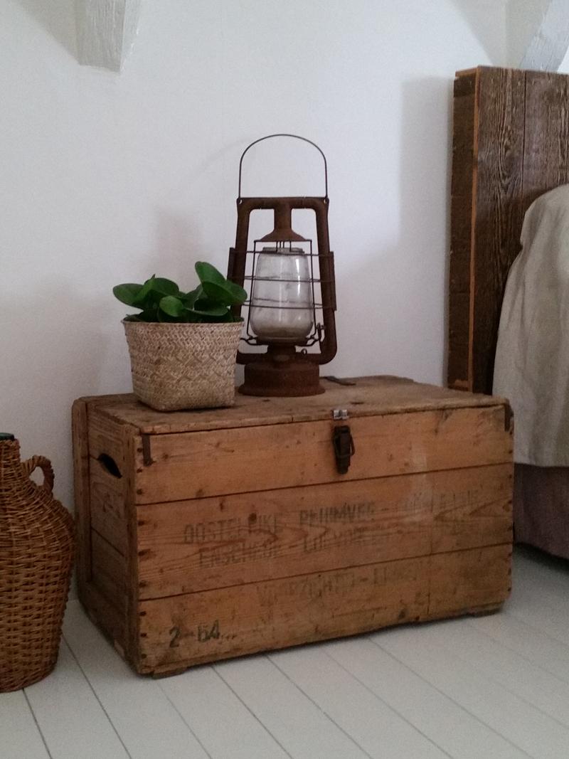 Oude Houten Kisten.Stoere Oude Houten Kist