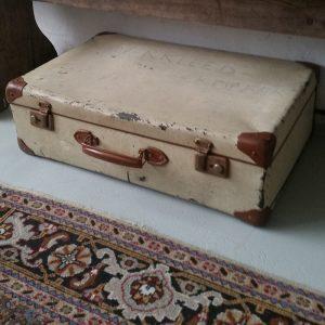 1114 Beige koffer