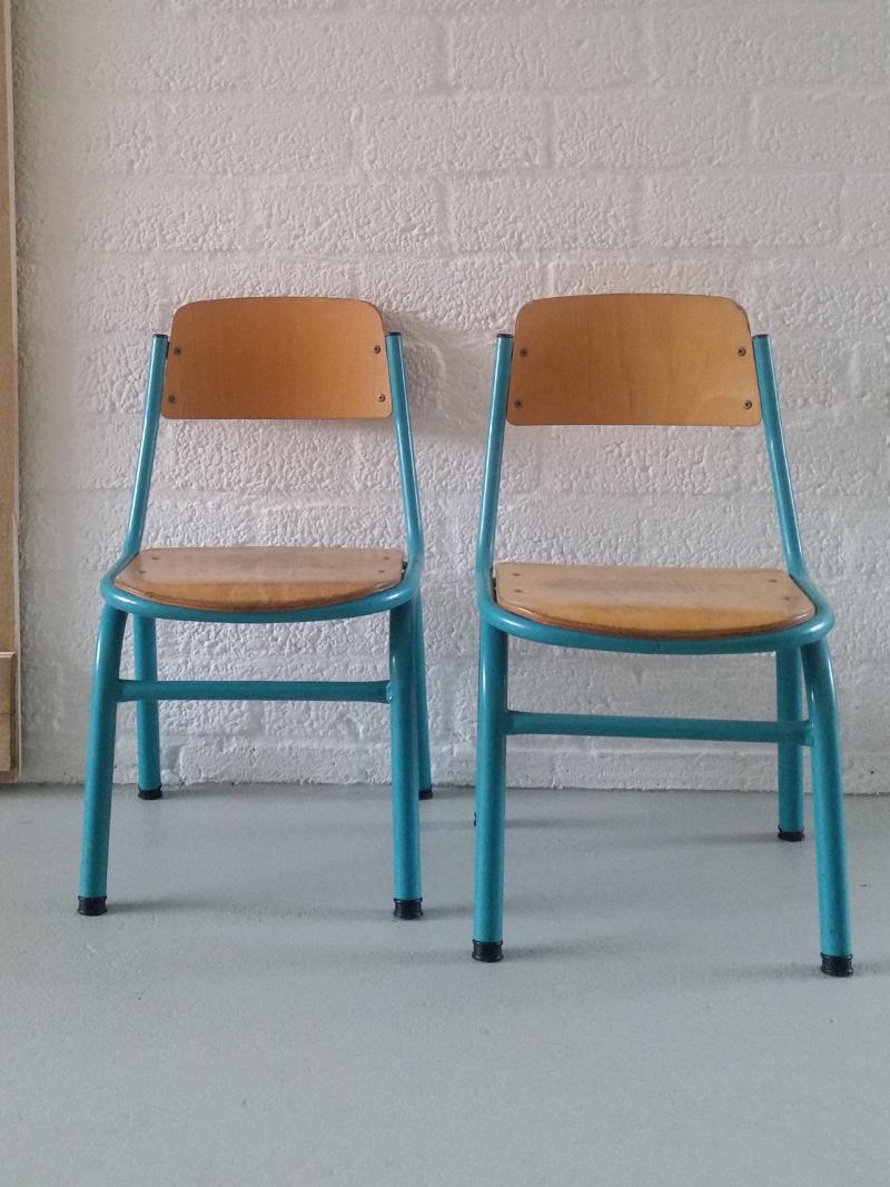 Retro Rotan Kinderstoeltje.Vrolijke Vintage Kinderstoel Frechic