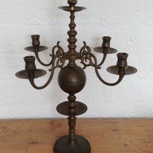 Antieke Glazen Kandelaars.Kandelaars Windlichten Frechic